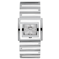 Ladies Stainless Steel Watch Silver Face