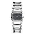 Ladies Stainless Steel Watch Grey Face